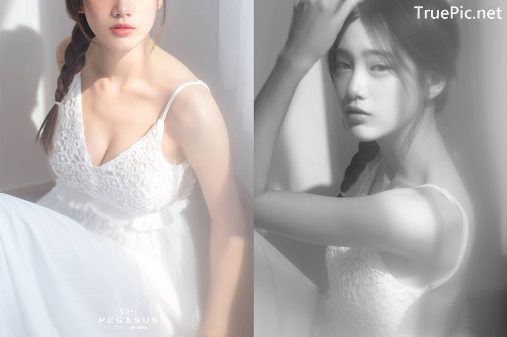 Image Thailand Model - Pimploy Chitranapawong - Beautiful In White - TruePic.net - Picture-3