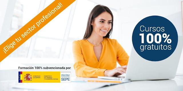 1.000 plazas en Cursos Online del SEPE para Trabajadores, Autónomos y Emprendedores