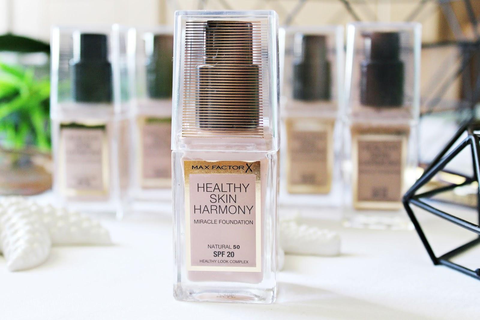 Podkład idealny na lato - Max Factor, Healthy Skin Harmony, Miracle Foundation SPF 20