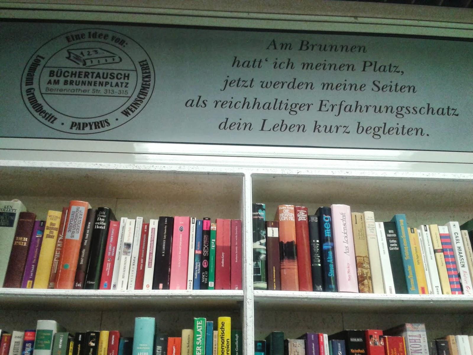 Offener Bücherschrank In Köln Sülz Literameer
