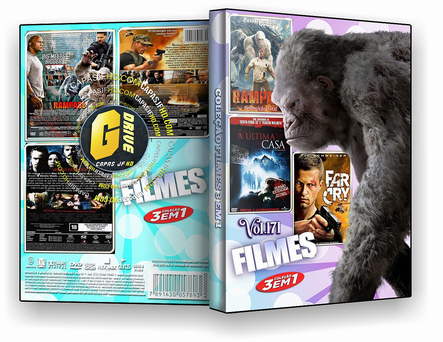DVD COLEÇÃO FILMES 3X1 VOL 171 - ISO