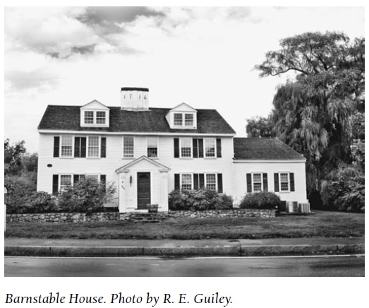 Barnstable House The House of Eleven Ghosts