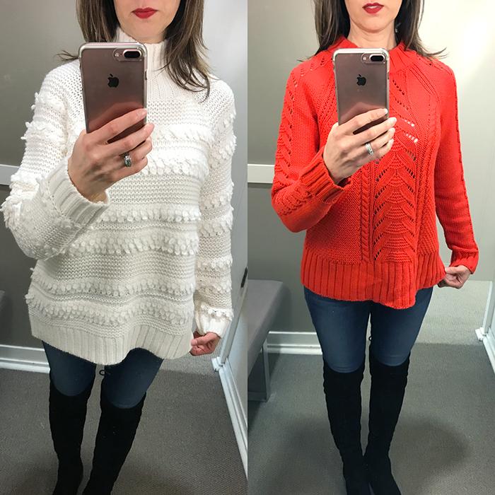 lou & grey sweaters