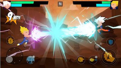 SUPER DRAGON STICKMAN BATTLE – WARRIORS FIGHT (MOD, UNLIMITED COINS)