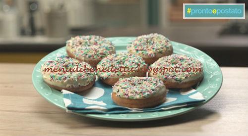 Pronto e postato - Donuts ricetta Benedetta Parodi
