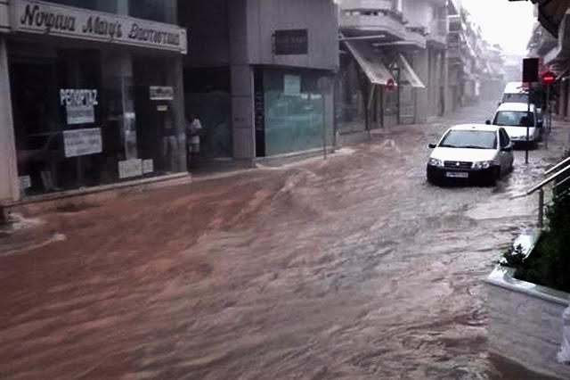 Ανακοίνωση του Δήμου Άργους Μυκηνων για τα κραία καιρικά φαινόμενα έπληξαν την πόλη του Άργους