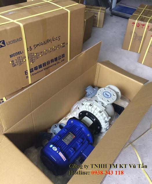 CÔng ty Vũ Tấn là nhà cung cấp máy bơm hóa chất tự mồi KUOBAO_ ĐÀI LOAN