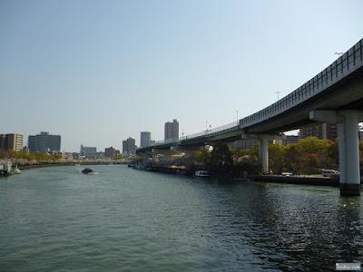 高速道路と旧淀川