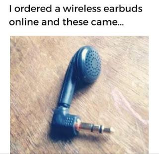 Wireless Earphones Meme