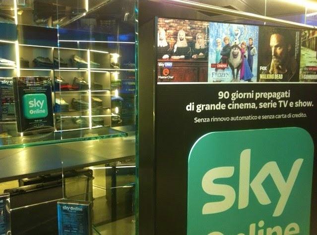 sky on line, sky, regali di natale, idee regalo natale 2014