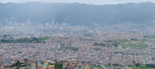 Vista panorámica de Bogotá, capital de Colombia.CINU Bogota/José Ríos