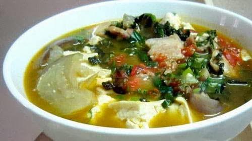 Món ăn ngon: Ốc nấu cà tím đậu phụ