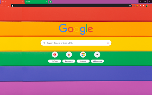 Proud Google Theme