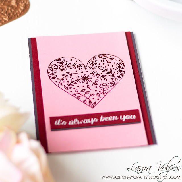 Clean and Simple Card with Glimmer Hot Foil Club Spellbinders