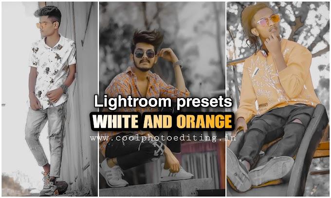 Orange And White Lightroom Presets