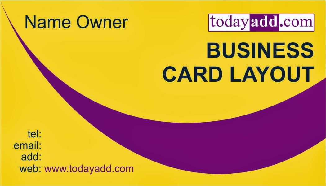Free Coreldraw Business Card Designs 2014