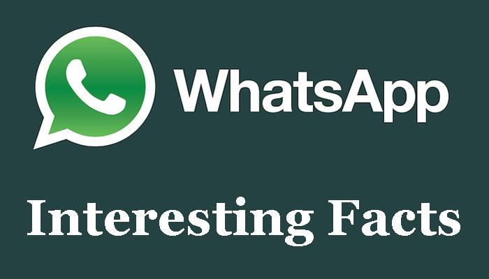 Whatsapp के बारे में कुछ रोचक तथ्य | 25 Whatsapp interesting facts