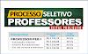 Aberto Processo Seletivo para Professores de Educação Básica. Salários até R$ 2.886,24