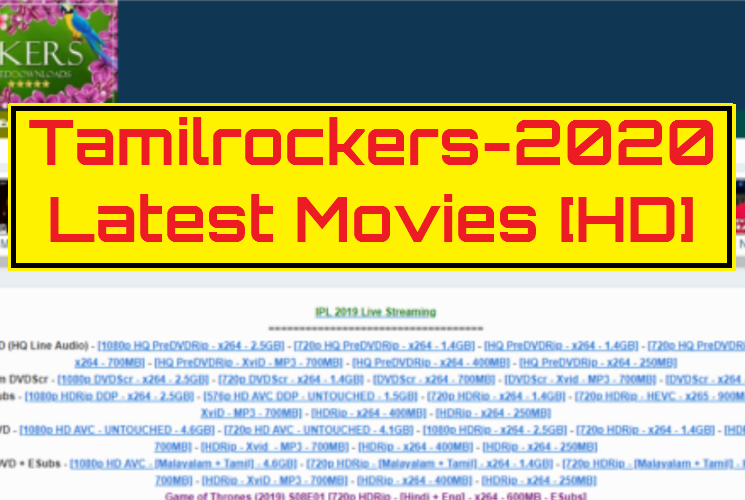 Tamilrockers 2020 HD Movies Download