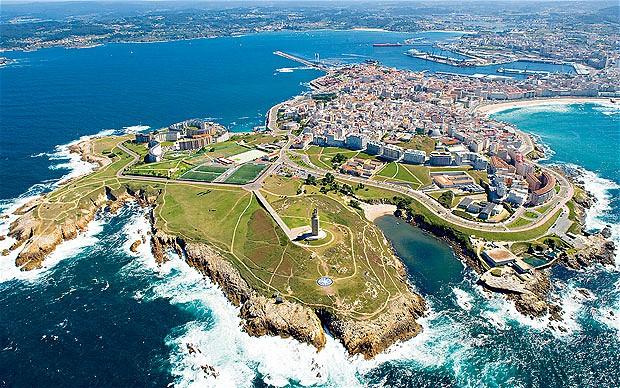 Click on a coru a a place to look forward to for Oficina de turismo a coruna