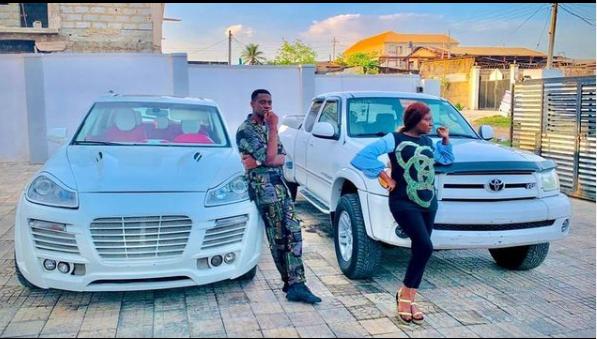 Yoruba Actors, Adedimeji Lateef And Adebimpe Oyebade buys a new car the same day(Photo)