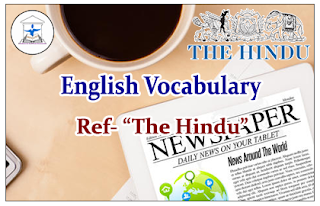 "English Vocabulary (Meaning-Usage) Reference- ""The Hindu"