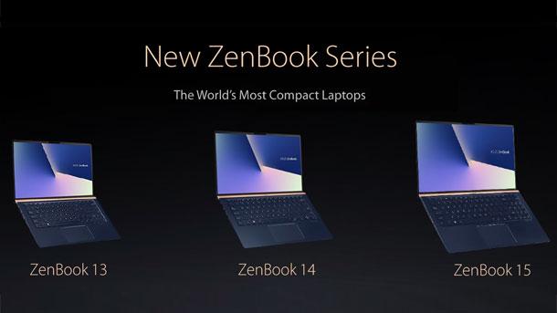 ZenBook 13 UX333, ZenBook 14 UX433, dan ZenBook 15 UX533