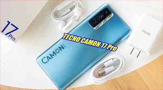 TECNO CAMON 17 Pro - بتقنيات مميزة ينافس الهواتف المحمولة