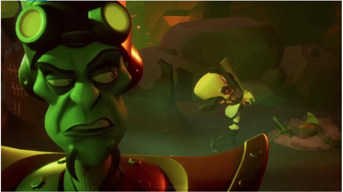Crash Bandicoot 4 melanjutkan kisah Crash Bandicoot 3: Warped.