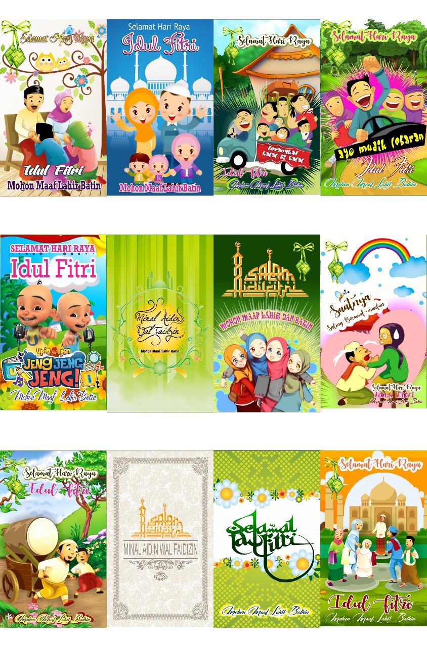 Desain Amplop Lebaran Tinggal Print : desain, amplop, lebaran, tinggal, print, Dianitama, Accesories:, Amplop, Lebaran, Karakter, Termurah, Baham, Glossy, Pabrik