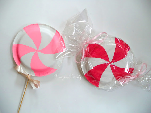 DIY Candy Decor Ideas | DIY Lollipop & DIY Peppermint Candy | DIYs Made Out of Paper Plates