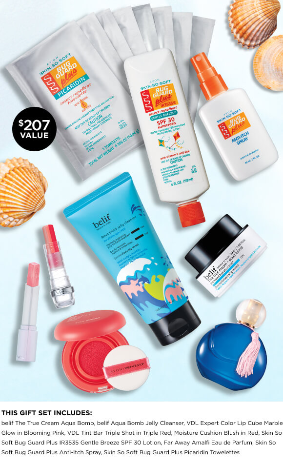 View Avon's Monthly Dive Into Summer Sweepstakes! Enter To Win.