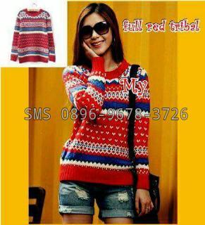 jual sweater rajut wanita murah