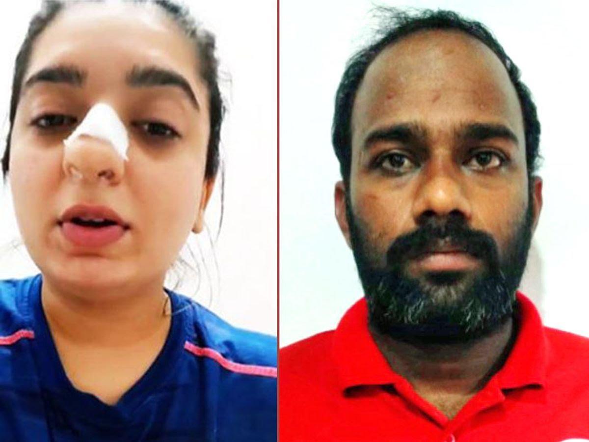बेंगलुरु के जोमाटो कर्मचारी पर हमला करने पर हितेषा एक्टर पर मुकदमा दर्ज