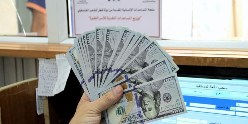 تفاصيل جديدة للمنحة القطرية 100 دولار 2021 وموعد وصول العمادي