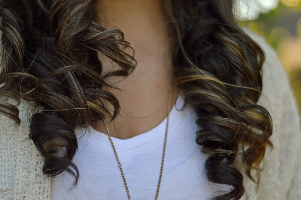 Fall Sunshine And New Hair Style Highlights And An Ombre