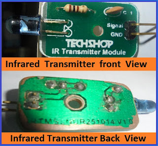 IR (Infrared) Remote Control Communication Between Two Microcontroller -Step By Step Tutorial : Part-1