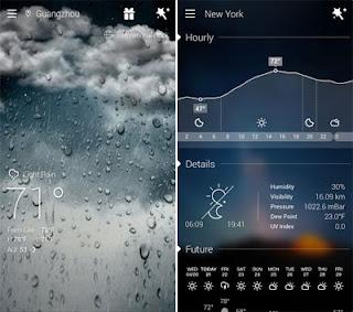 8 aplikasi ramalan cuaca android terbaru dan paling akurat