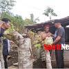 Hujan Bukan Penghalang Bagi Camat Marbo dan Pemdes Laikang Untuk Menyalurkan Bantuan
