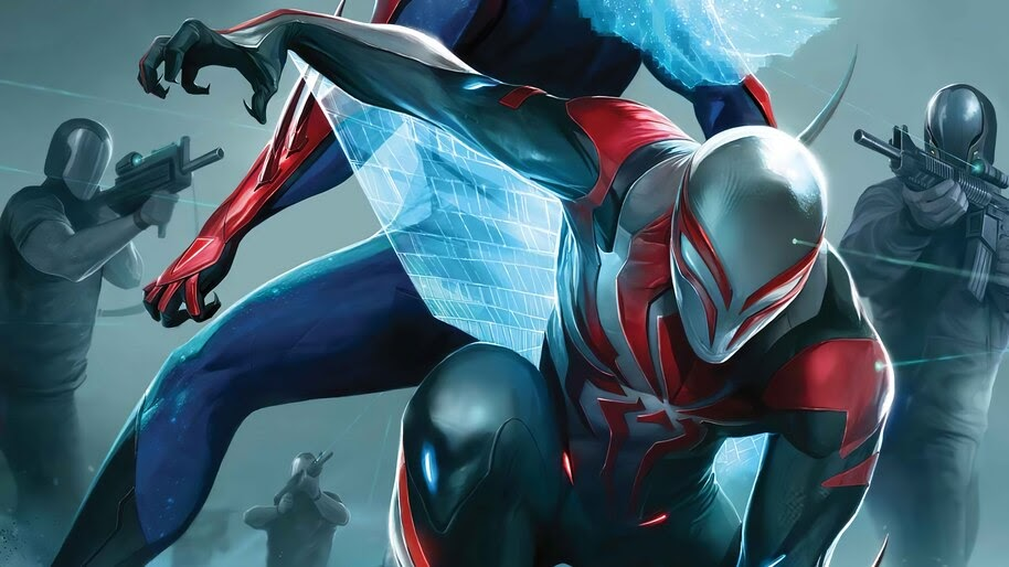 Spider-Man 2099, Comics, Superhero, 4K, #6.2126