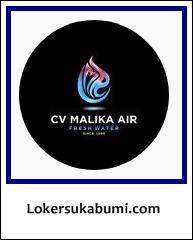 Lowongan Kerja Accounting CV Malika Air Sukabumi Terbaru