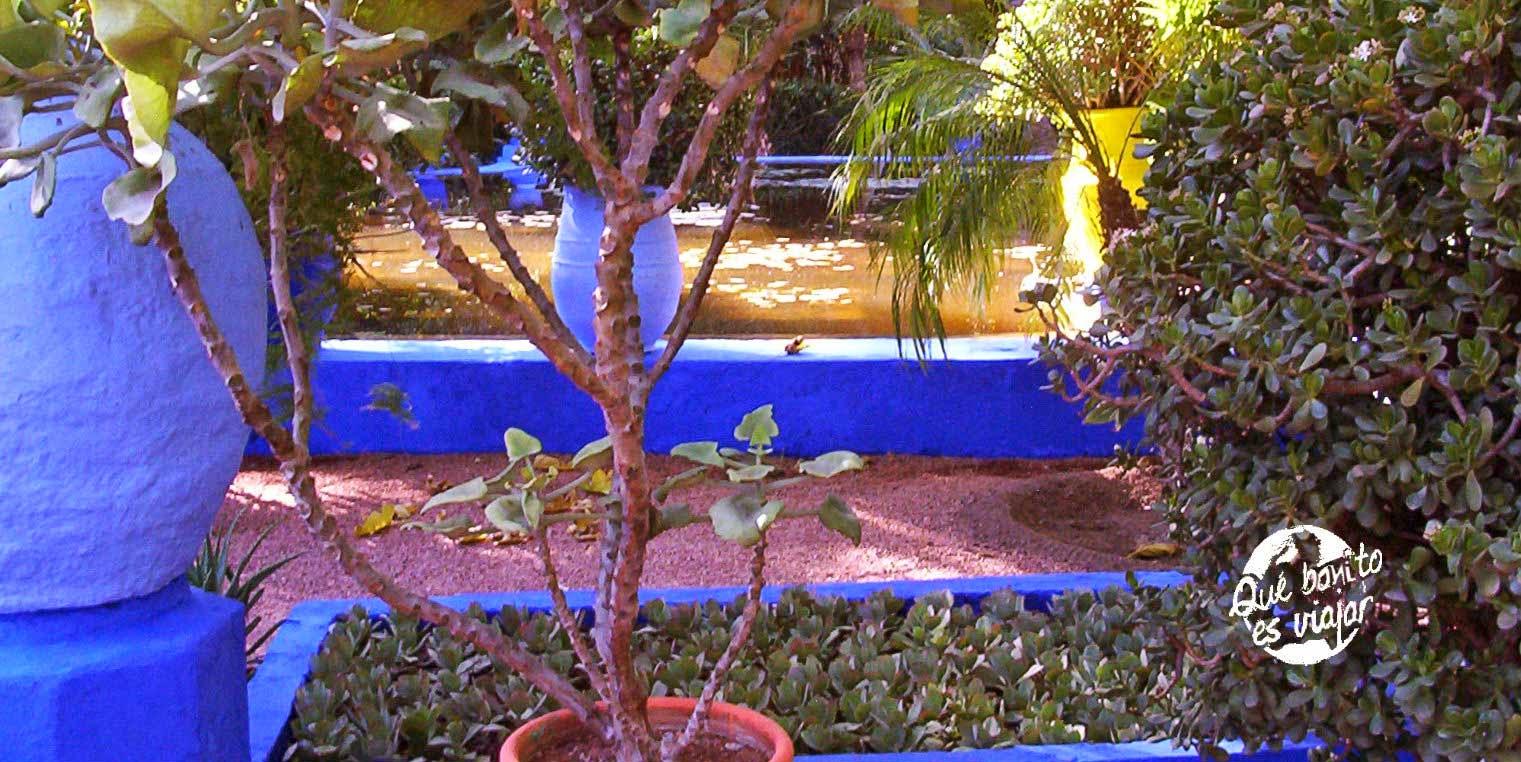 Jardines Majorelle en Marrakech