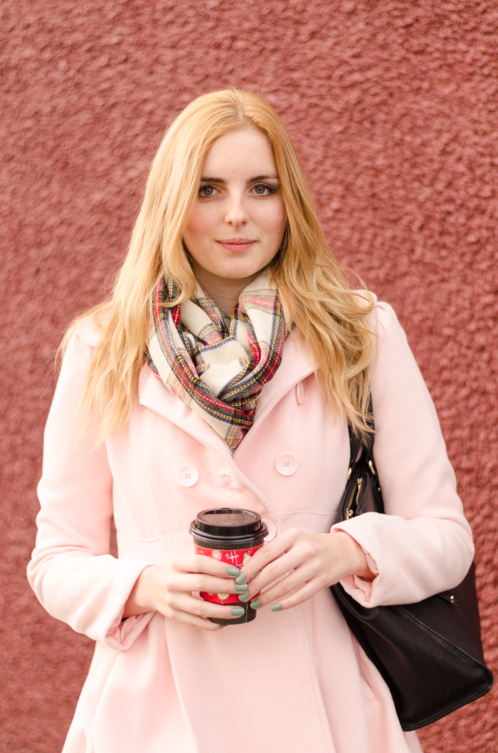 How to Style a Pink Jacket
