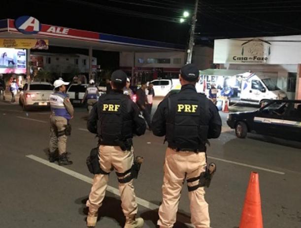 Em Santana do Ipanema, Operação Lei Seca e BPRv realizam ações durante Festa da Juventude