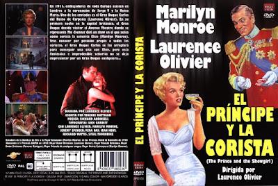 Carátula dvd: El príncipe y la corista (1957) The Prince and the Showgirl
