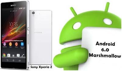 Cara Instal Android 6.0 Marshmallow Untuk Sony Xperia Z