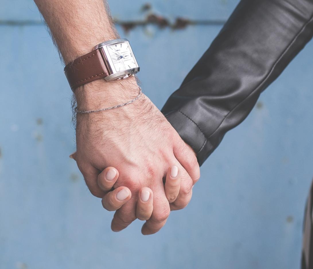 Stylish Couple Holding Hand DP