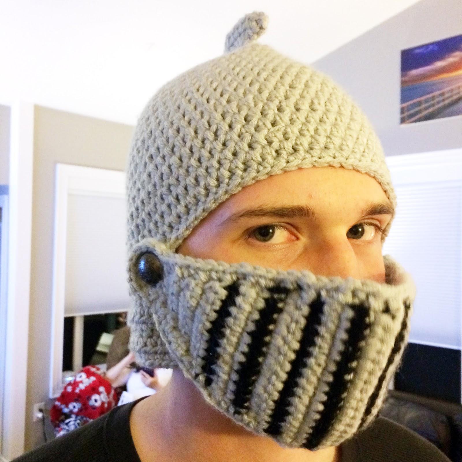 Knit Knight Helmet Pattern Free - Honoursboards.co.uk