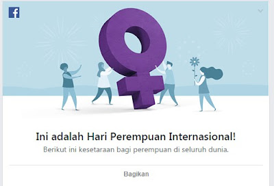 Google Doodle Dan Facebook Rayakan Hari Perempuan Internasional