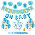 $9.99 (Reg. $19.99) + Free Ship Baby Boy Shower Decoration Kit!